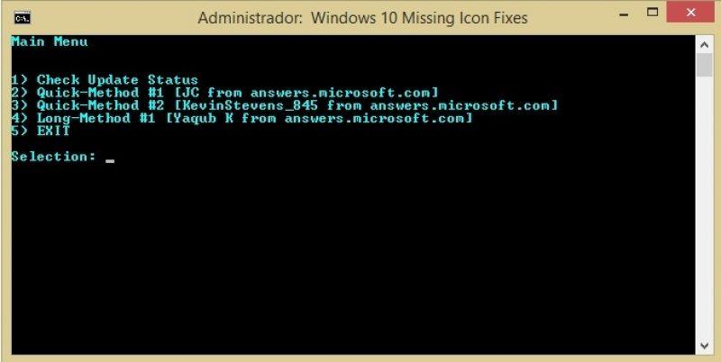 Windows 10 - Reservar atualização